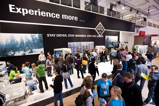 2014.01.16_GORE-TEX® products ispo tradeshow booth 2010