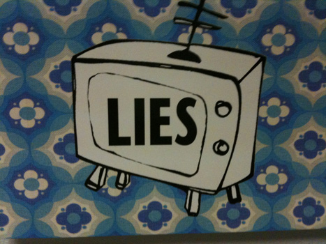 Lies by Ged Carroll, on Flickr