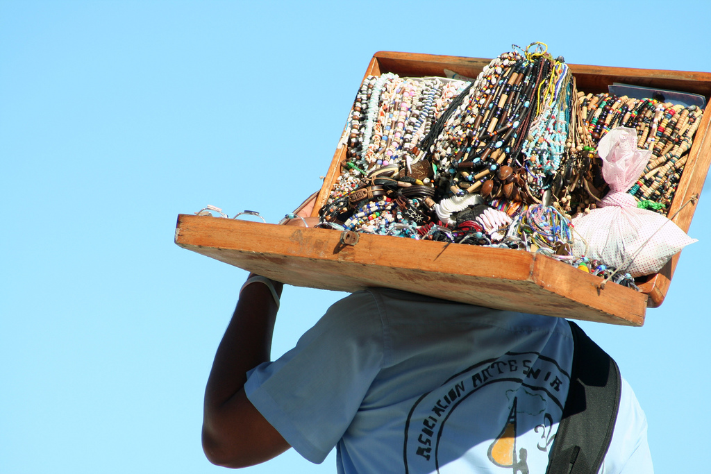 2014.07.24_Selling jewelry, Cabarete (Dominican Republic) by Remon Rijper, on Flickr