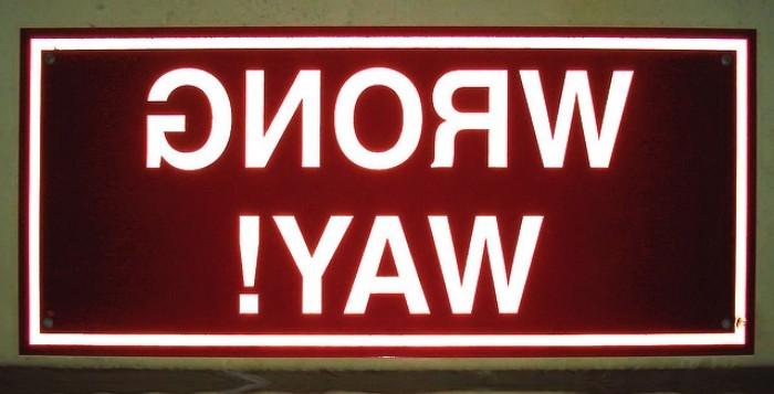 Wrong Way by Robert Fornal