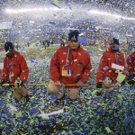 Super Bowl XLVIII Confetti drop by Anthony Quintano, on Flickr