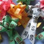 Measuring Tape Ribbon Rossettes by Manitoba Coupon Maven