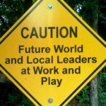 Caution Future World Local Leaders by Wesley Fryer