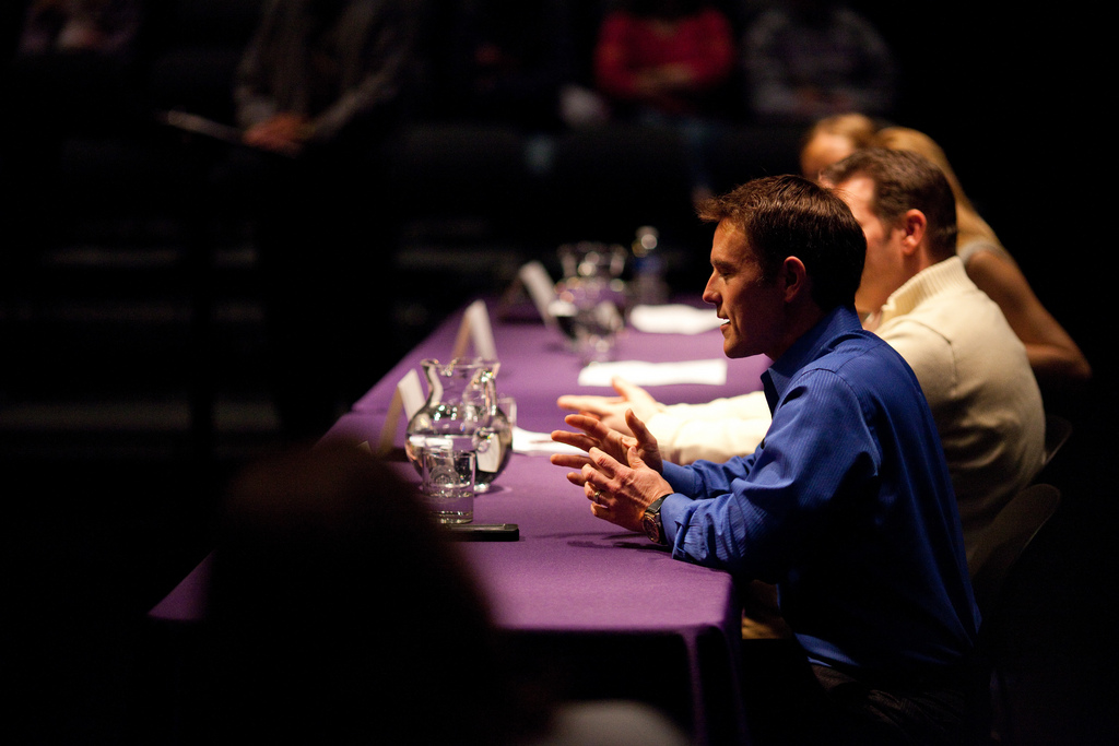 Panel discussion by tylerhoff, on Flickr